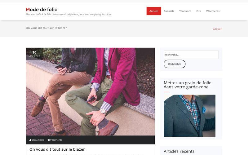 Mode de folie - Des conseils à la fois tendance et originaux pour son shopping fashion